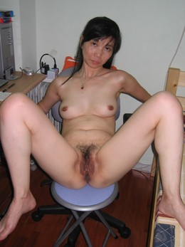 Red big dildo in asian pussy. Tags:..