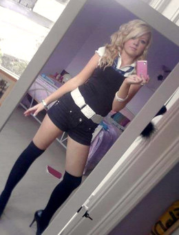 Nubie schoolgirl topless self-shots