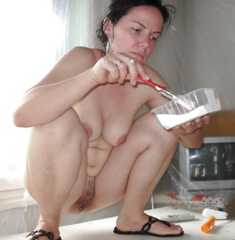 Private photos of the sexy milf in the..