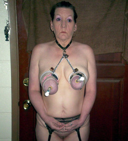 Saggy tied up tits pics