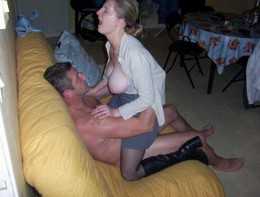 Naughty slut enjoying her reward