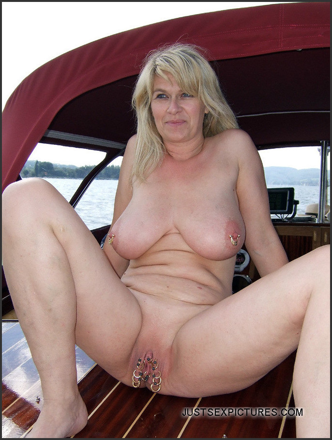 Apologise, but, my sailing wife naked